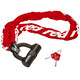 Red Cycling Products High Secure Chain Plus lucchetto per bici rosso